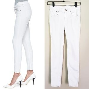 | Rag & Bone JEAN | White Capri Skinny Denim